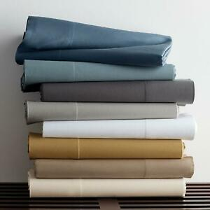 Glorious Bedding Collection Egyptian Cotton Select Item Solid Colors UK Single