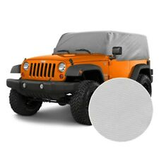 For Jeep Wrangler 1987 2006 Rampage Gray Custom Fit 4 Layer Breathable Cab Cover Fits Jeep