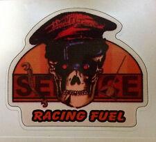 RAT ROD HOT ROD CHOPPER  BOBBER    DECAL STICKER  RACING FUEL
