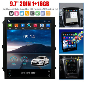 9.7inch Double Din Android Navigation Host Car Radio Stereo w/Bluetooth GPS WiFi