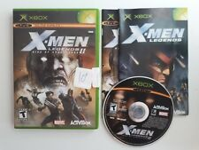 X-Men Legends II: Rise of Apocalypse - Original Xbox Game CIB - FREE SHIPPING !!