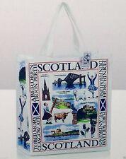 Scottish Royal Stewart,Heraldic & Landmark Tartan Reuseable Tote shopping Bags