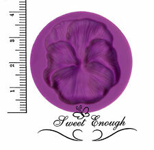Small Pansy Flower Flexible Silicone Mould for Fimo Sugarcraft Cupcake Toppers