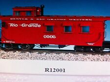 USA Trains G Scale Woodside Caboose R12001 Rio Grande