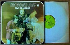 BEACH BOYS - LIVE IN LONDON - CAPITOL LP - GREEN LBL - HOLLAND PRESSING