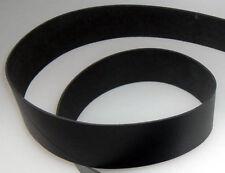 Lederriemen Lederstück Lederhaut Gürtelleder schwarz 130,0 x 60,0 cm x 3 mm LWPH