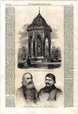 1862 Drinking Fountain Victoria Park Strangers Home Asiatics Limehouse