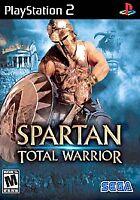 Spartan Total Warrior Sony PlayStation 2 PS2 no manual