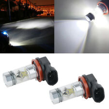 2x High Power H8 H11 CREE LED Fog Driving Light 3030 SMD 100W Lamp Bulb White