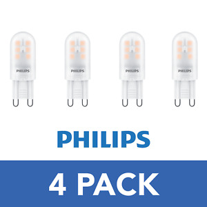4 pack Philips CorePro LEDcapsule 1.9W=25W LED G9 - Warm White