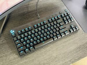 Logitech G Pro Wired TKL RGB Gaming Keyboard - GX Blue Clicky Switches