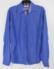 Thomas Pink Mens Slim Fit Dress Shirt Size 16 1/2 Stripped FREE SHIPPING