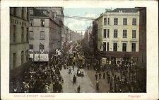 Glasgow Schottland Scotland 1905 Argyle Street Straßenbahn Straße Howells Store