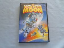 Fly Me to the Moon 3D (DVD, 2008) - W/ GLASSES - ALSO 2D VERSION
