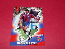 PANINI FOOTBALL CARD 98 1997-1998 DIDIER MARTEL LA BERRICHONNE CHATEAUROUX LBC