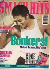 October Smash Hits Music, Dance & Theatre Magazines