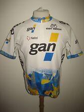 Gan France vintage 90's jersey shirt cycling trikot maglia maillot size L