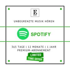 Spotify Premium ⭐ 365 Tage ⭐12 Monate 💥 WELTWEIT ⭐fast liefern JETZT 2019 ⭐Gar