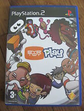 JEU PS2 @@ PLAYSTATION 2 @@ SONY @@ EYE TOY PLAY @@ COMPLET @@ PAL