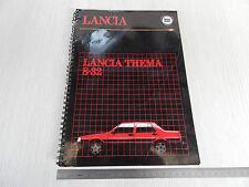 CARTELLA ORIGINALE PRESENTAZIONE STAMPA LANCIA THEMA 8.32 FERRARI 8V