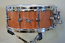 "Hendrix 14"" x 6"" Stave American Black Cherry Semi Gloss Snare Drum"