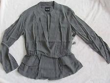 Nic+Zoe Femme Utility Jacket/Blazer- Semi-Sheer- Dusty Olive- Size XS - NWT $178