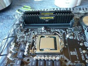 Intel i7 6700k, Asus motherboard, and Corsair RAM, bundle.