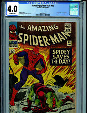 Amazing Spider-man #40 CGC 4.0 1966 Marvel Comic Origin Green Golbin B12
