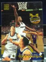 CHRIS WEBBER WARRIORS 1993-94 STADIUM CLUB FREQUENT FLYER CHROME ROOKIE CARD HOT
