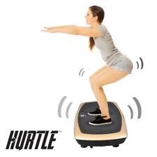 Hurtle HURVBTR60 Standing Vibration Fitness Machine, Vibrating Platform Exercise