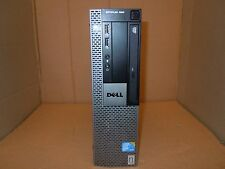 Dell 960 Optiplex SFF Core 2 Duo 3,1 GHz E8500 RAM 2GB hard disk 160 GB Win 7