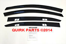 2014 Mazda 3 Side Window Deflectors Genuine OEM NEW Part # BHN1-V3-700