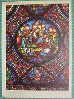 Francese Cathedral Effetto Vetrata Vetro Finestrino Stampa ~ Life Di la Vergine