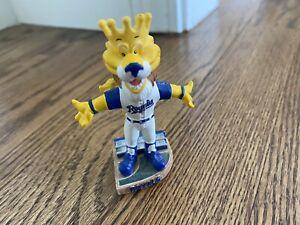 Mini Kansas City KC Royals Mascot Bobblehead Sluggerrr & Bobble head slugger
