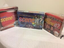 Scene It? DVD Movie Trivia/ Seinfeld/ TV Edition Lot of 3 Factory Sealed Games