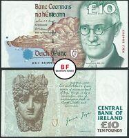 Ireland | 10 Pounds | 1997 | P.76b | Prefix - KKJ | aUNC