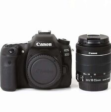 La vendita Canon EOS 80D DSLR Camera WI-FI + EF-S 18-55 mm f/3.5-5.6 IS STM Lens Kit Nuovo