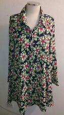 Ladies floral shirt top size medium Glamorous