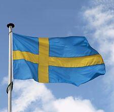 Sweden Flag Polyester the Swedish National Banner 3x5' Feet Banner wall sticker