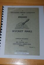 Weeda Literature: Specialised Priced Catalogue of Indian Rocket Mails, Cooper