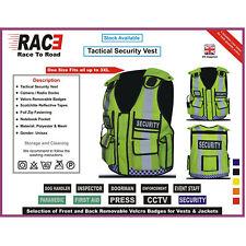 More details for new hi viz tactical vest security,cctv, enforcement, dog handler tac vest