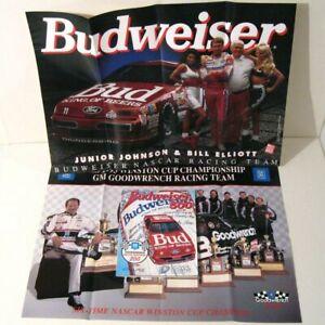 Vintage 1994 BUDWEISER 500 Program & Posters! Dale Earnhardt! Billy Elliott!