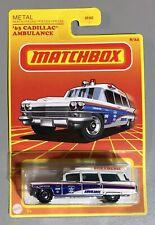 2021 Matchbox Retro '63 Cadillac Ambulance Paramedic VHTF