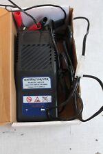 Kleines, leichtes Batterieladegerät für Motorrad und Rasenmäher Batterien