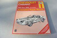 Haynes Shop Repair Manual 24016 (866) Chevrolet Camaro 82-92