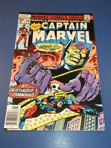 Captain Marvel #56 Bronze age VF Beauty