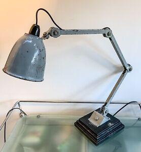 Vintage Industrial Lamp EDL Bandit 50's