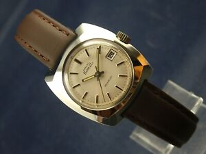 Rare Ernest Borel Ladies Swiss Watch 1970S NOS