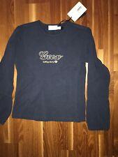 Geox warmes langarm Shirt 110/104 blau College Girl