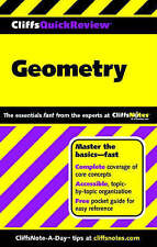 Geometry (Cliffs Quick Review)-ExLibrary